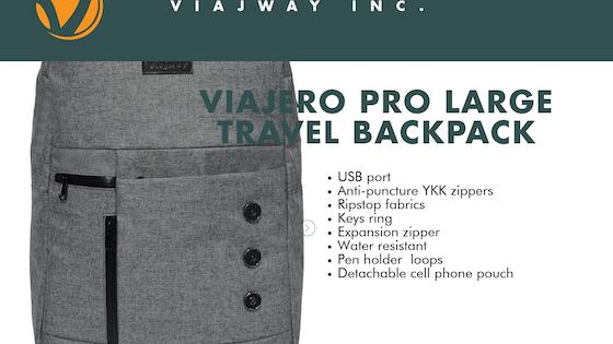 Viajero Pro EX7 - Large Carry-on Travel Backpack