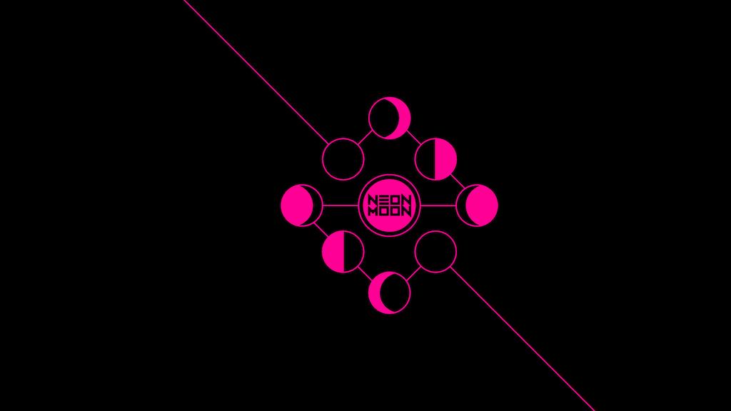 Neon Moon Tarot project video thumbnail