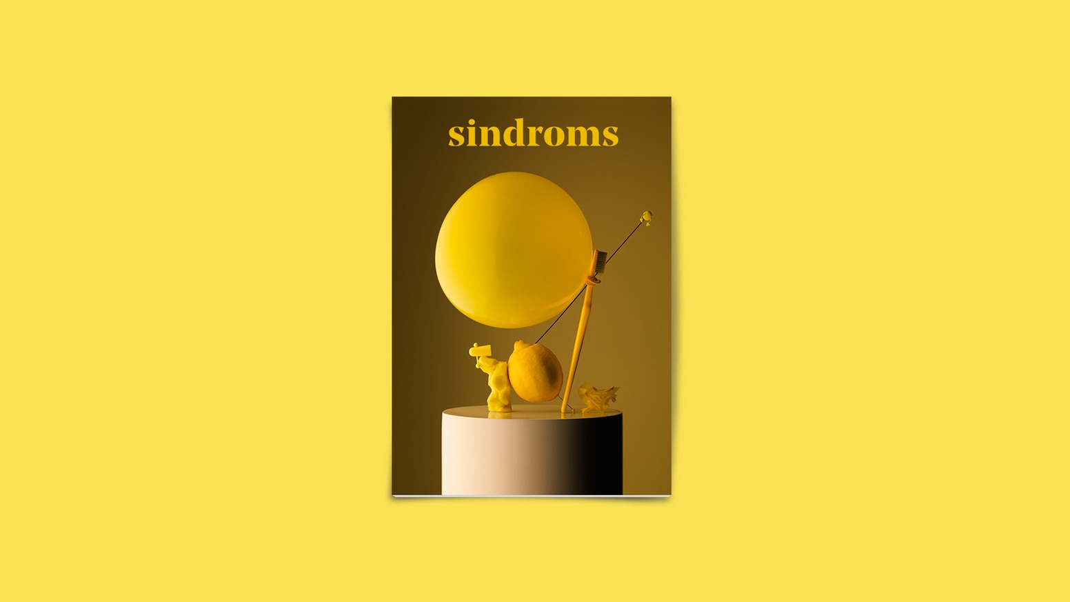 Sindroms Magazine is a biannual printed journal of monochrome states of mind, investigating colour across design and culture.