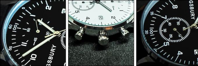 Chronograph (60 sec / 60 min)