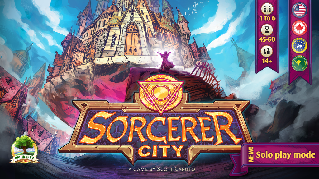 Sorcerer City Board Game project video thumbnail