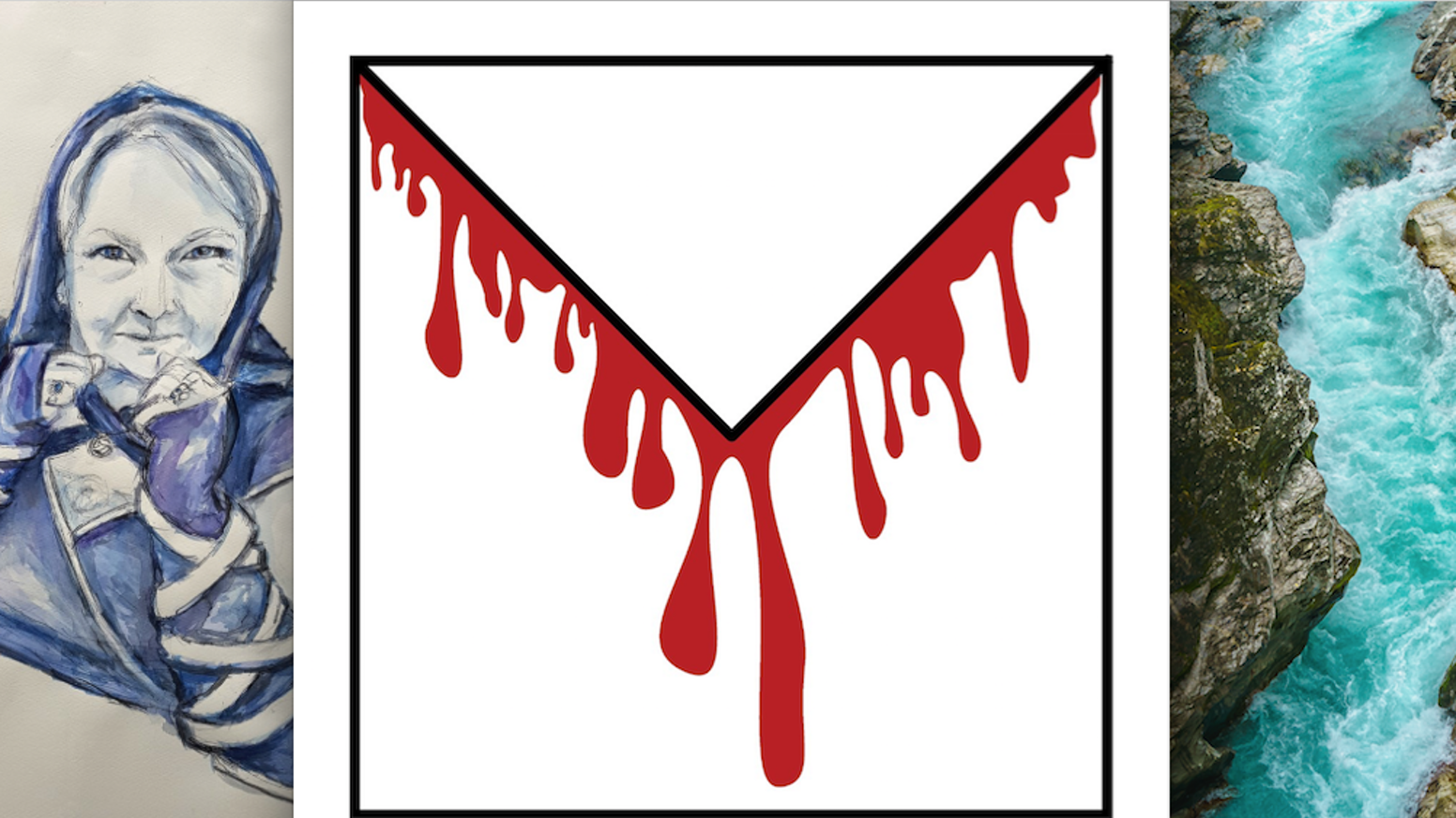 MURDER IN THE MAIL: A BLOODY BIRTHDAY is a mystery told through letters, objects, and artworks posted to you over several weeks.