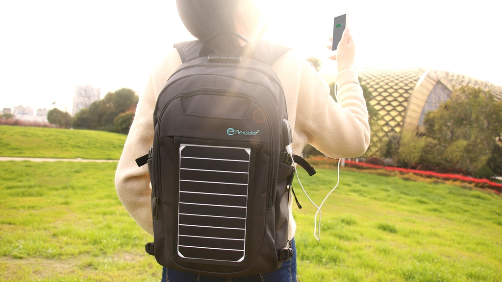 SunPack: A backpack with removable solar charger project video thumbnail