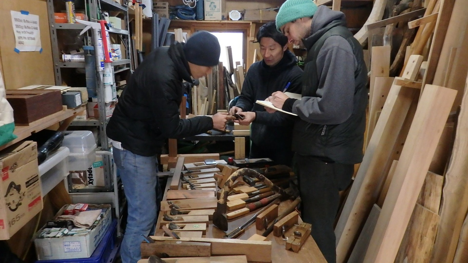 study woodworking in japan!takami kawai 河井 尊臣