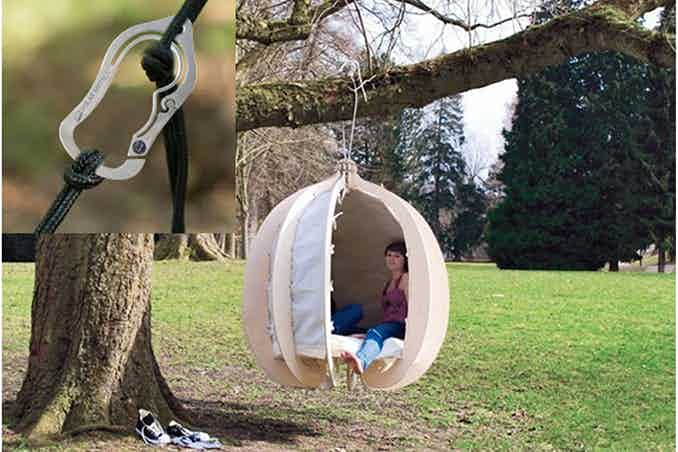 Want to live in a tree pod? Bad Ass to the rescue