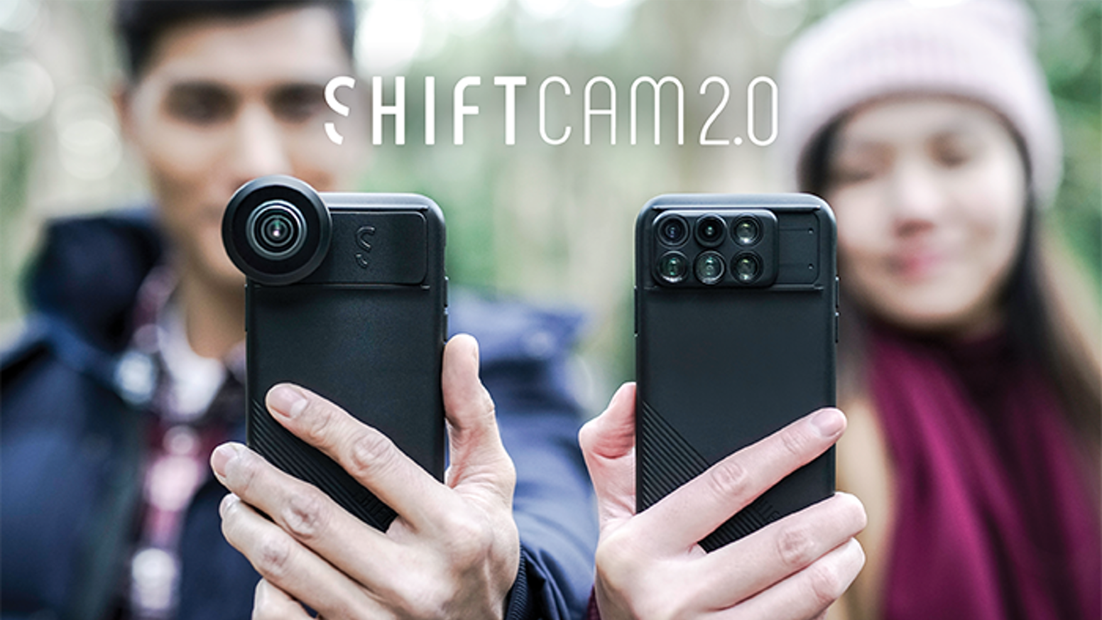 A Comprehensive Set of 12 Camera-Enhancing Lenses in 1 Convenient, Portable, Phone case for Photographers.  Just Shift. Point. & Shoot.