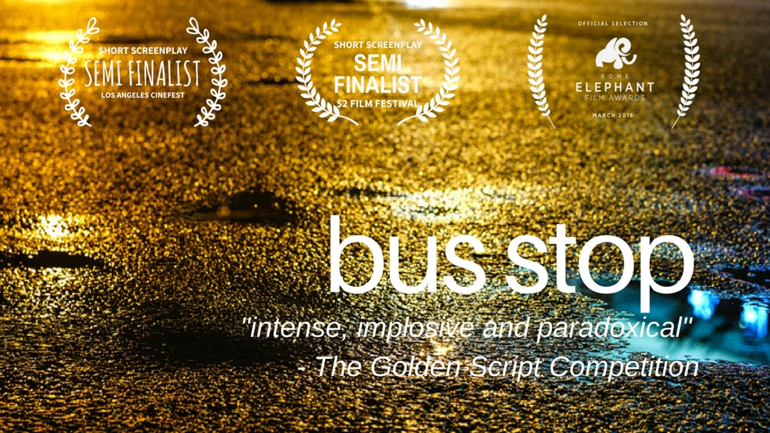 Bus Stop - two strangers, one journey by Three Days Film