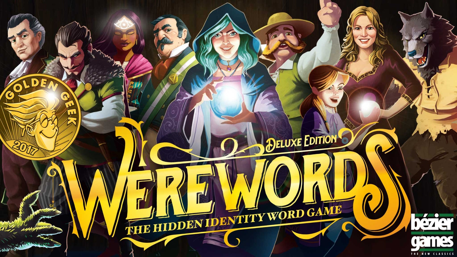 Figure out the Magic Word with all new artwork, roles, modes, and more. From the creators of One Night Ultimate Werewolf!