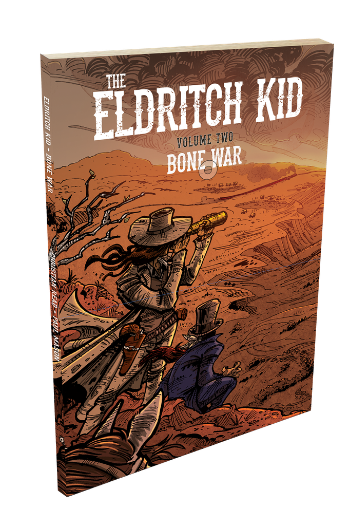 Eldritch Kid: Bone War (not final cover)