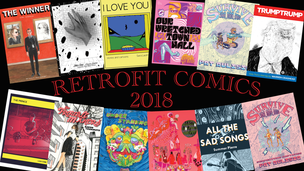 Retrofit Comics 2018: 12 new graphic novels project video thumbnail