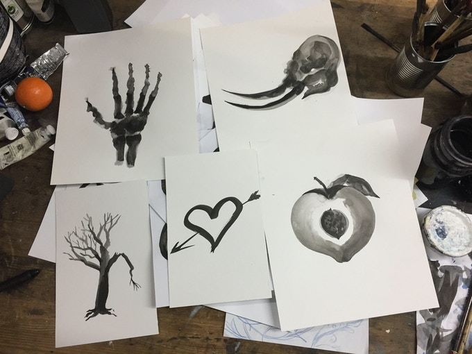 Limited edition original ink drawings by Matt Huynh