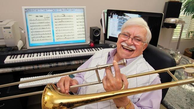 Of all instruments, Sammy will always most cherish the trombone.