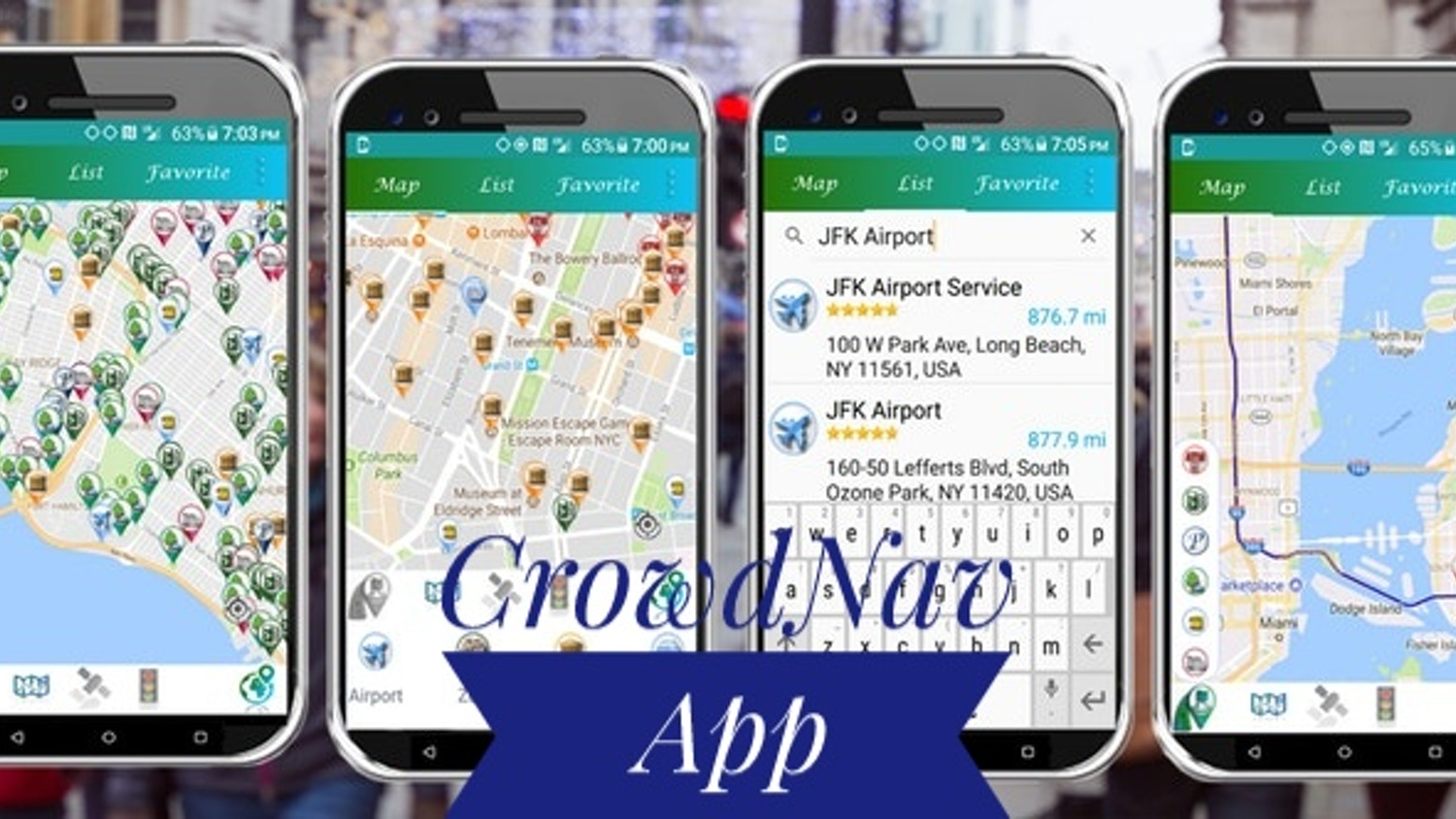 CrowdeNav App help people in their day to day commute,and  updates users how crowded their destinations are in real-tim the busy status