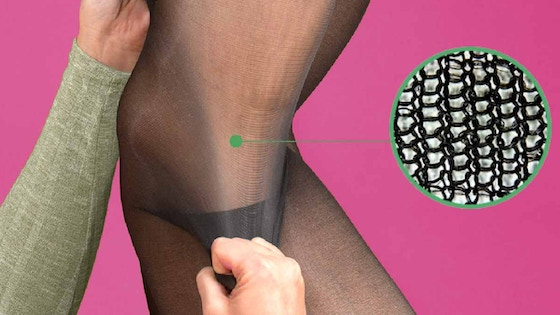 Indestructible Sheer Tights   Made With Bulletproof Fibers