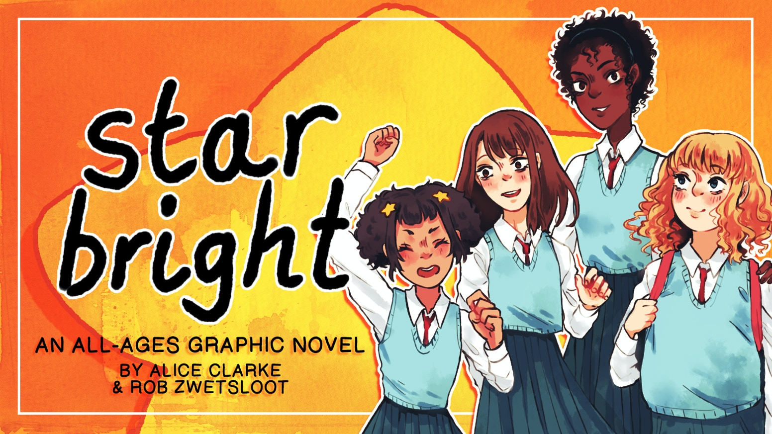 All six chapters of the all-ages webcomic Star Bright collected into one graphic novel.