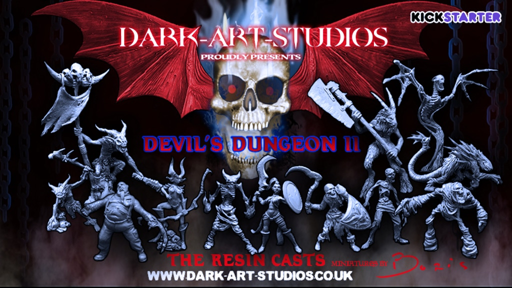 Devil's Dungeon II - The Resin Casts project video thumbnail