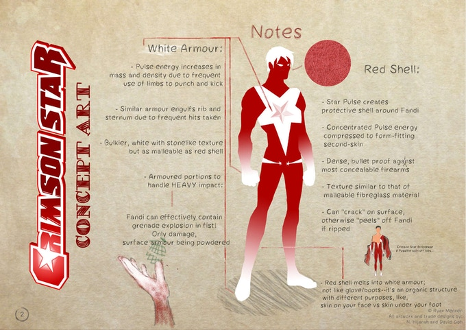 Crimson Star Concept Art (Front)