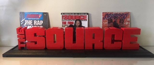 REWARD: The Source Magazine Logo made out of LEGO Bricks