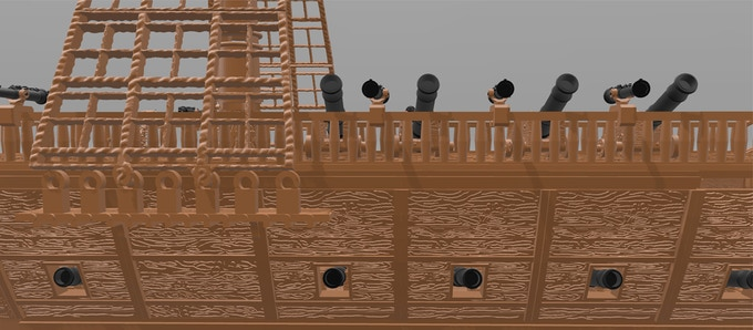 ShipWorks 3d Printable Ship Terrain by Chris Hunt — Kickstarter