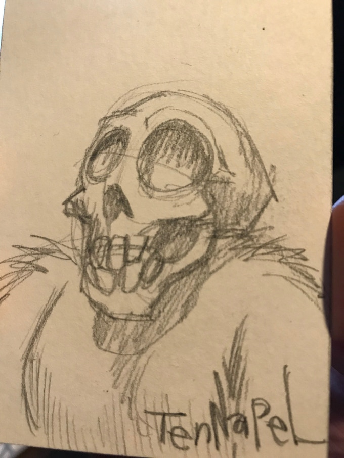 Pencil Skullmonkey (Stretch Goal Only!)