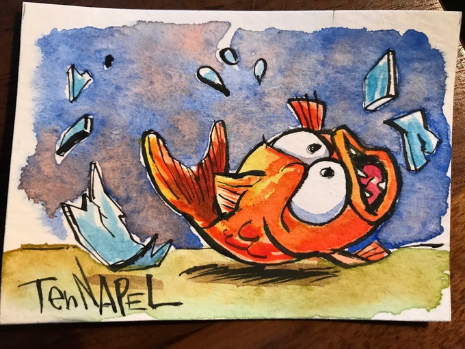 15. Bob the Goldfish