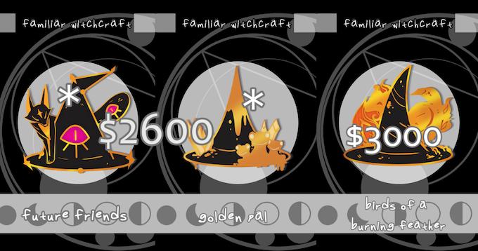 Familiar Witchcraft Enamel Pins by La — Kickstarter