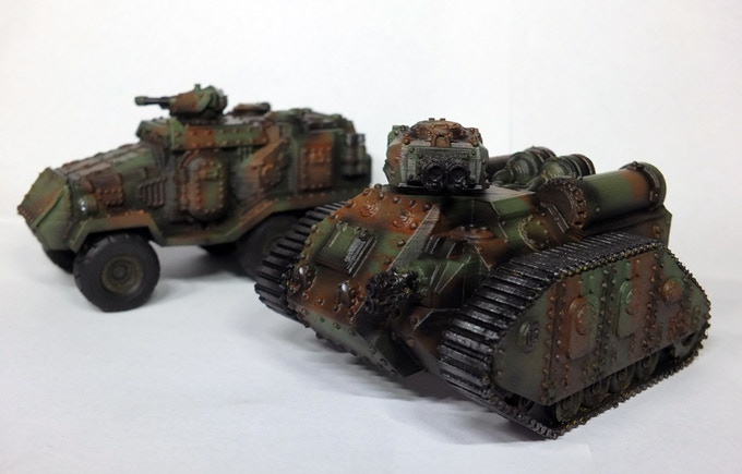 Flame tank and AFV. Printer on a flash forge finder FDM printer