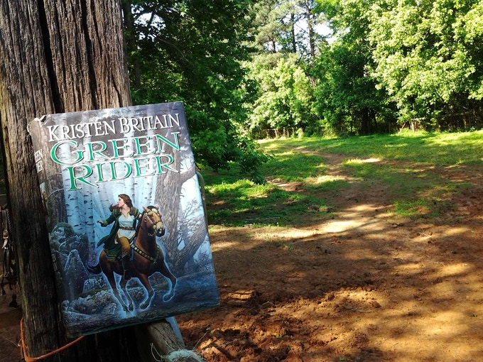 """Photo by """"Green Rider""""fan- Joan Keegan"""