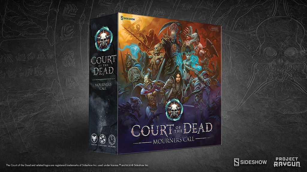 Court of the Dead: Mourners Call Board Game project video thumbnail