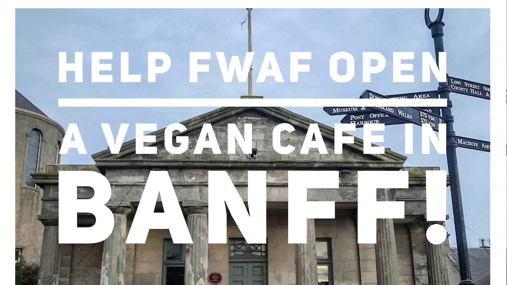 Project image for BANFF NEEDS A VEGAN CAFE