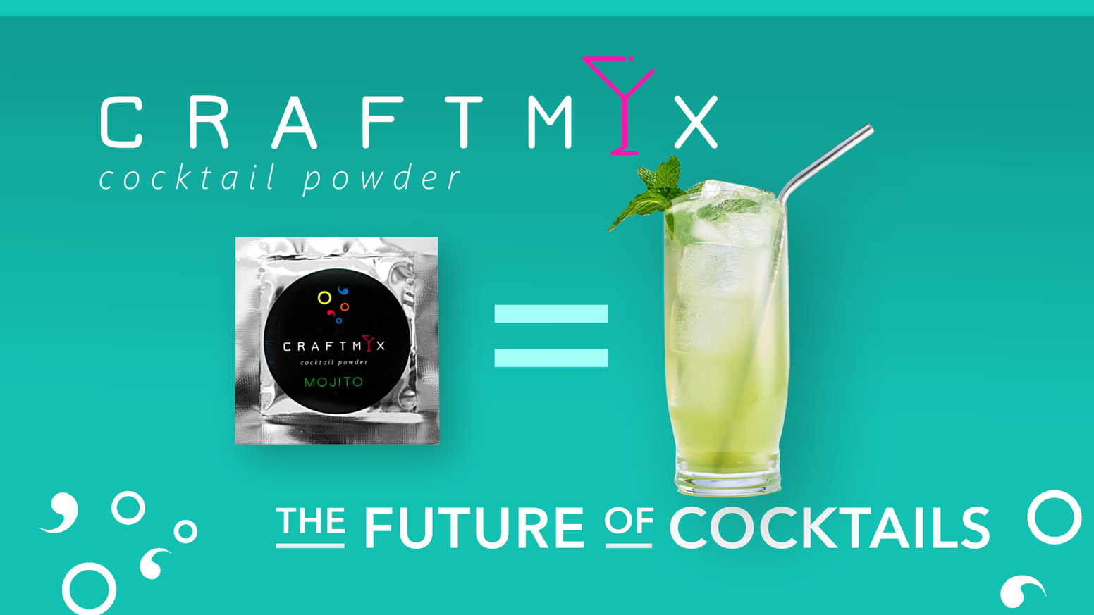 Craftmix is the FUTURE OF COCKTAILS with low sugar, low calorie, vegan, soy free, dairy free, gluten free, INSTANT craft cocktails