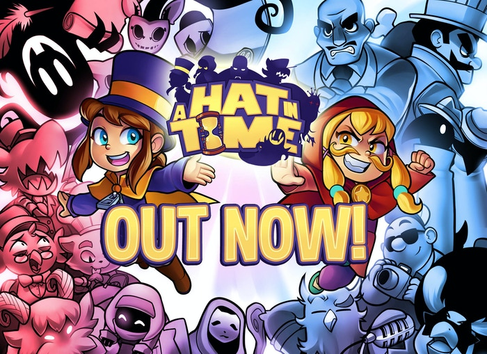 a hat in time 3d collect a thon platformer by gears for breakfast