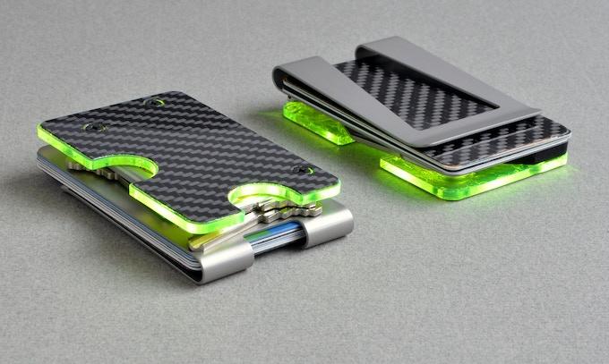 The KeyClip Light Wallet.