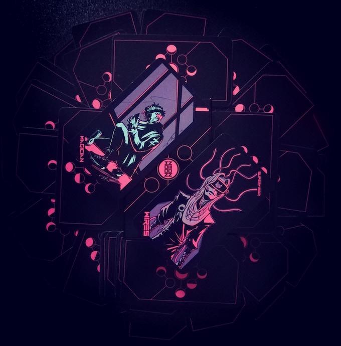Neon Moon Tarot by PixelOccult — Kickstarter