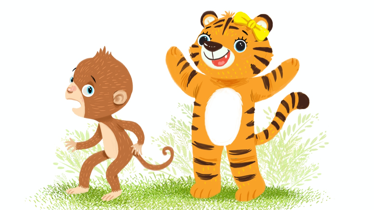 Little Linguists' Library are the picture books that allow you and your child to learn a foreign language together.