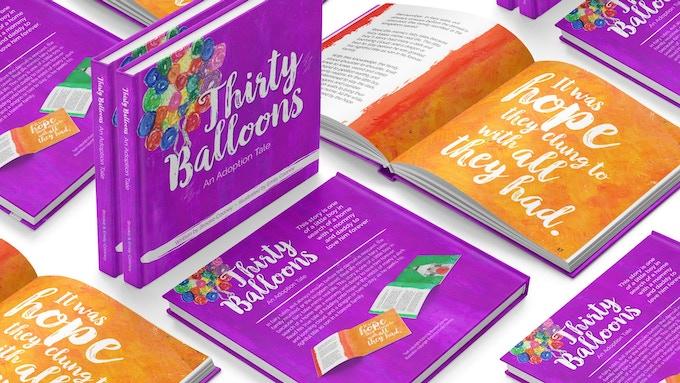 #ThirtyBalloonsBook