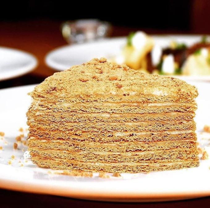 Natalia's Honey Cake