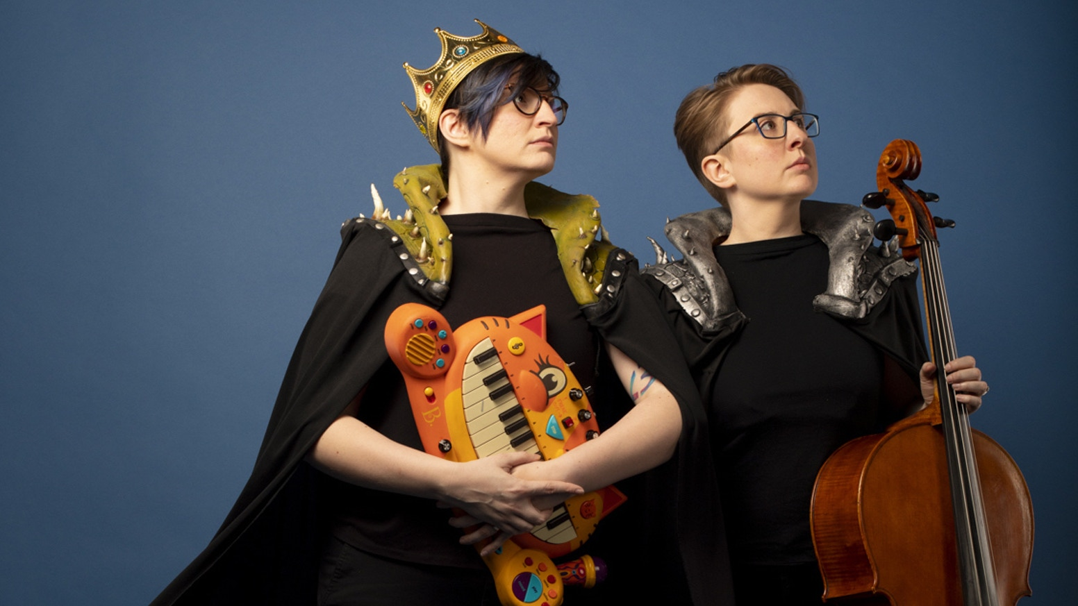 We admit it: The Internet was a mistake. The Doubleclicks are making an album all about it, plus some other REAL things.