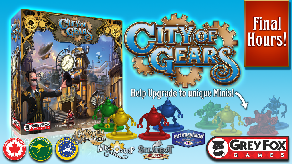 City of Gears, a Game of Discovery, Development & Disruption project video thumbnail