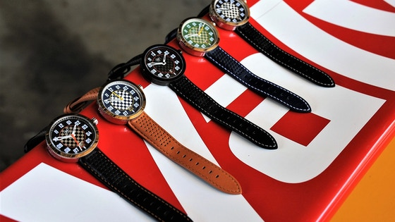 Marchand 'Legacy' Watch - Wearable Motor Racing Passion