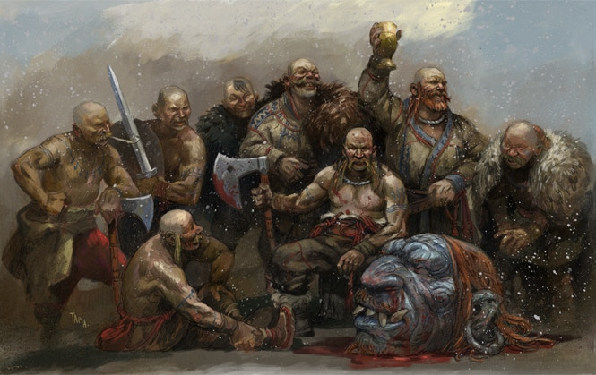 Warriors from the Stormlands