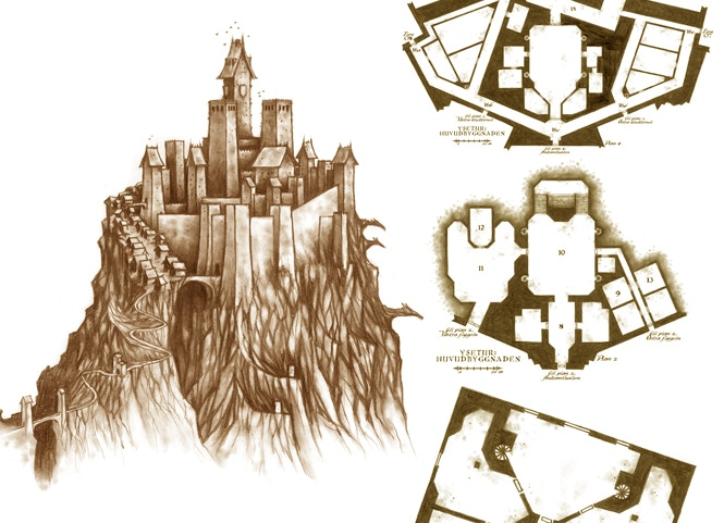 Explore the great stronghold Ysetur!