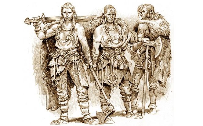 Storm maidens