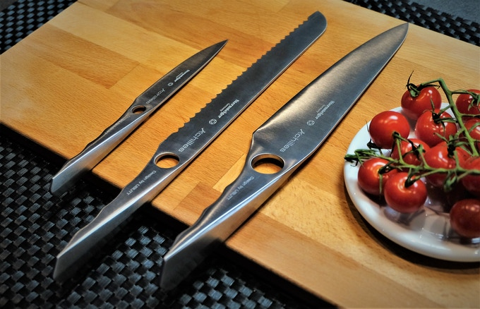 The Achilles knife series