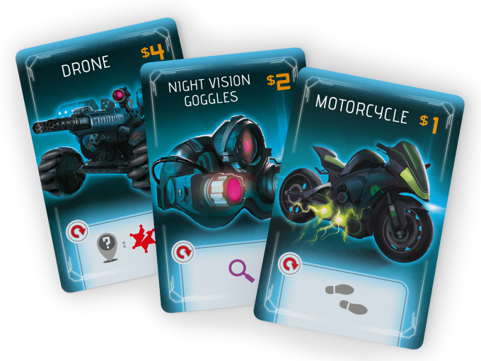 Purchase Equipment Cards to build your action engine and become powerful enough to takedown Steelheart.