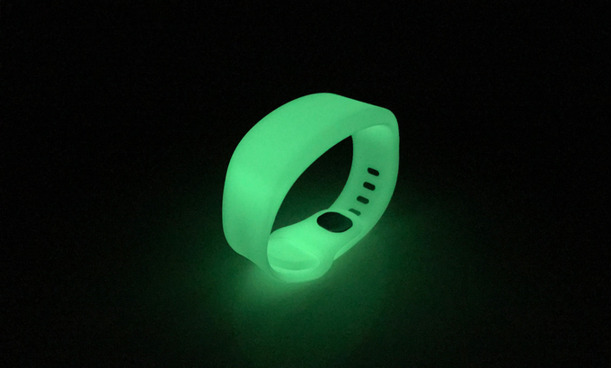 glow in the dark band