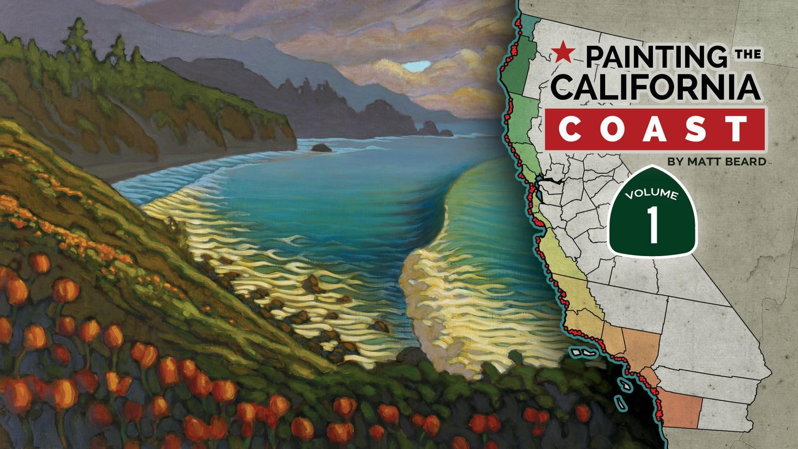 New Report Paints Californias Charter >> Painting The California Coast Volume One By Matt Beard Kickstarter