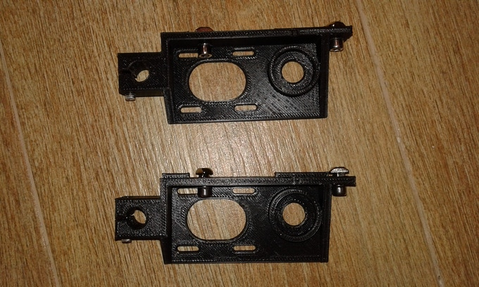 Z axis printed stepper mounts
