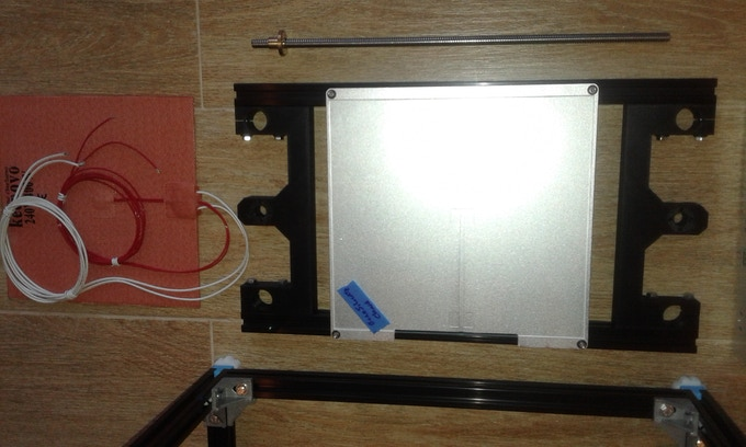 500W heated build bed