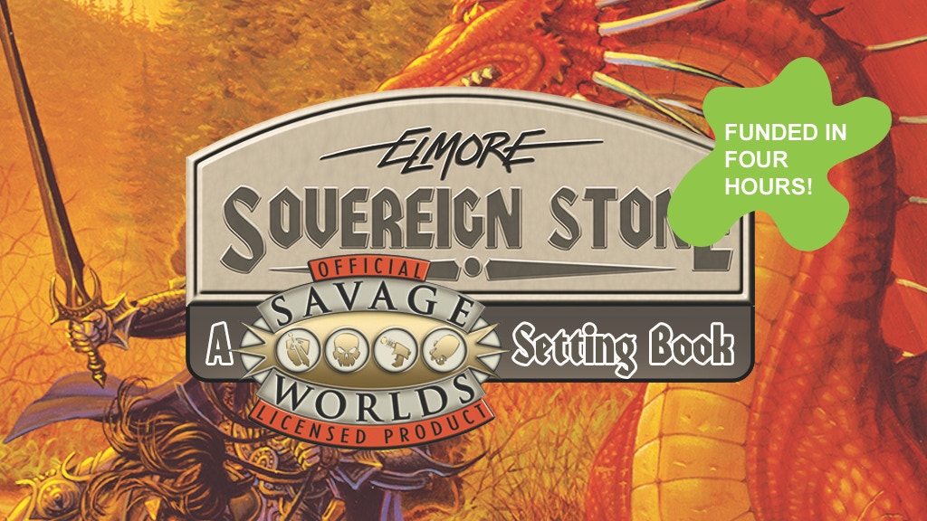 Savage Worlds Sovereign Stone project video thumbnail